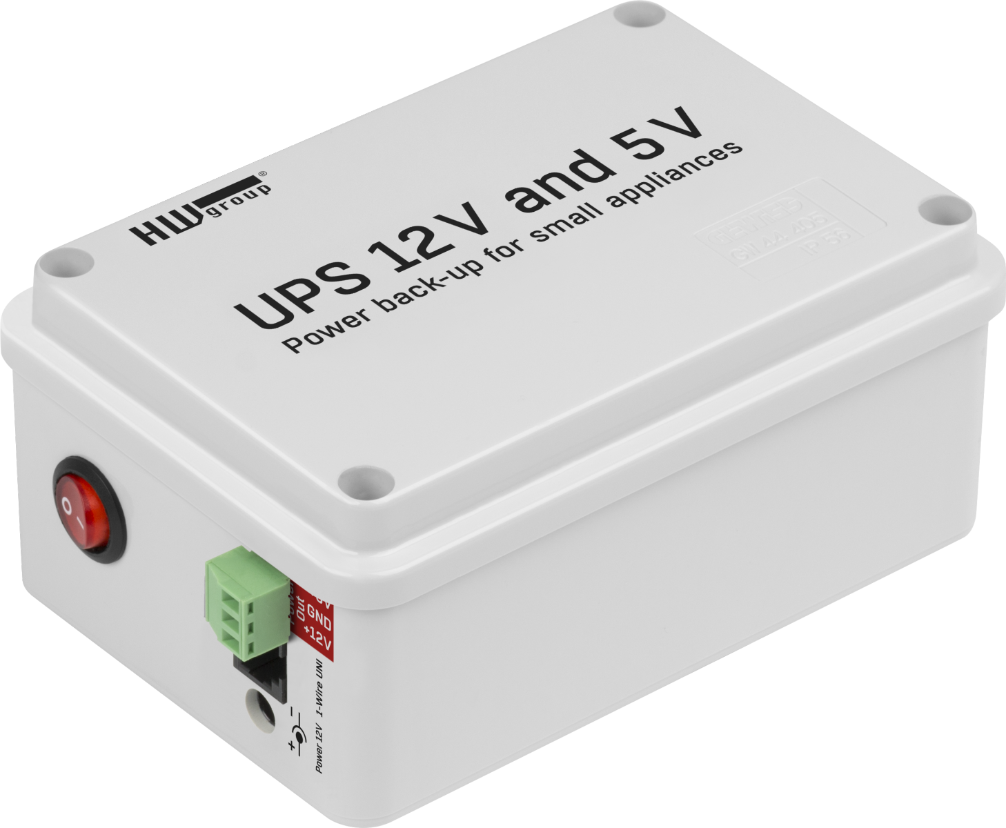 UPS 12V and 5V | HW-group com