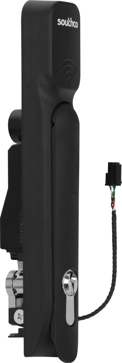 HWg-SH1: H3-EM Electronic Locking Swinghandle | HW-group com